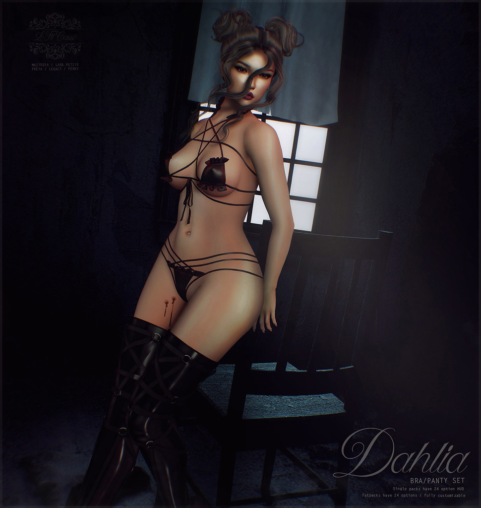{le fil cassé} Dahlia Set for FaMeshed X
