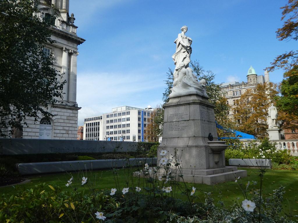 The Titanic Memorial Garden, Belfast City Hall