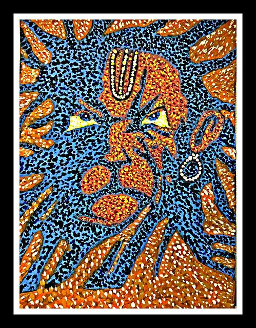 Serious Hanuman