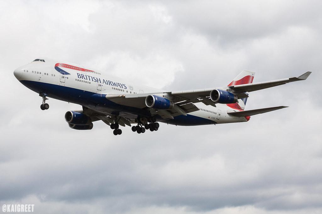 Boeing 747-436 | G-CIVF | British Airways