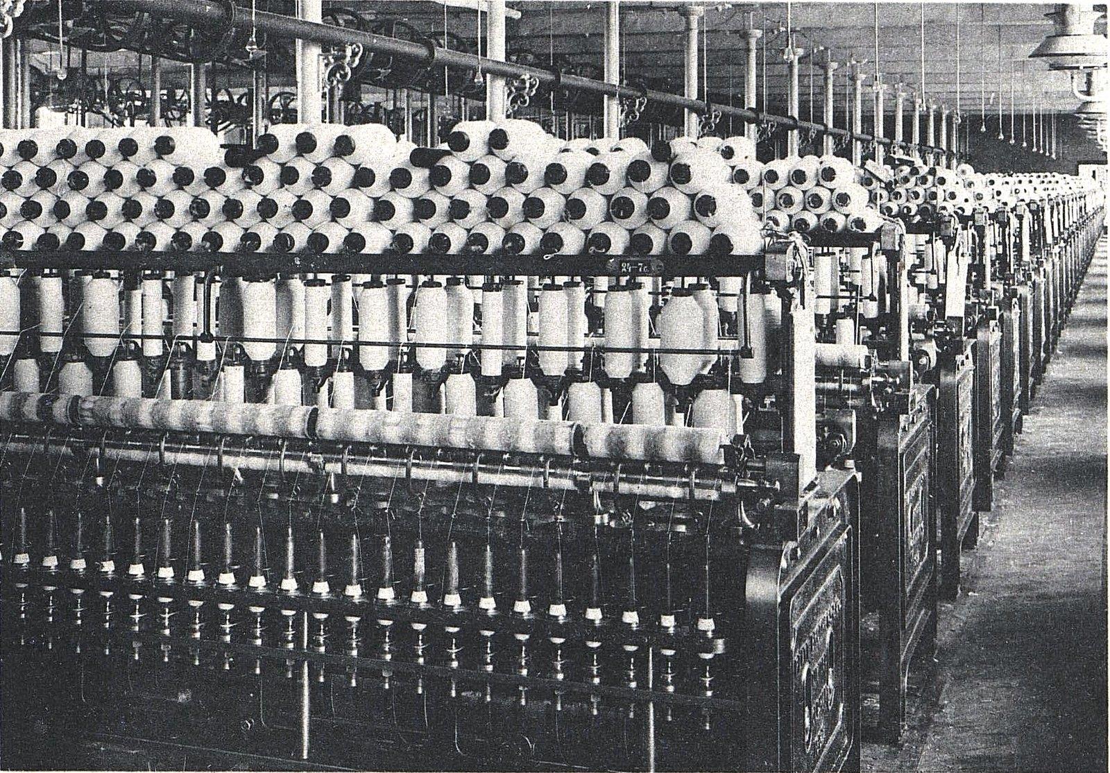 20.  Ватерно-прядильное отделение