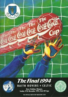 Raith Rovers v Celtic 19941127