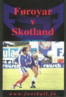 Faroe Islands v Scotland 20020907
