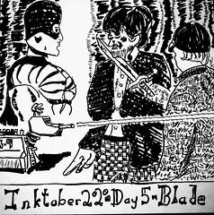 Inktober 2020 - Day 5 - Blade