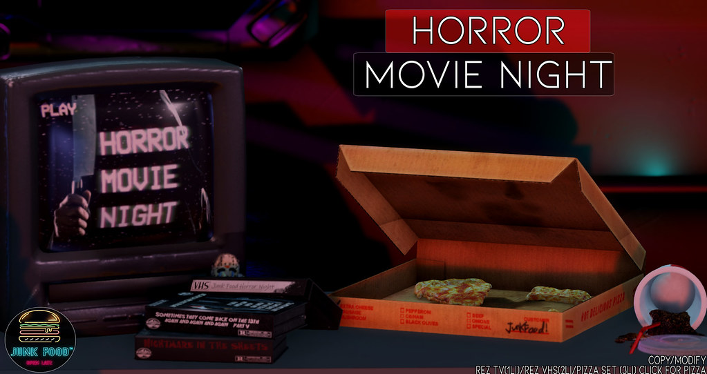 Junk Food – Horror Movie Night Ad
