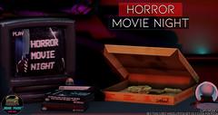 Junk Food - Horror Movie Night Ad