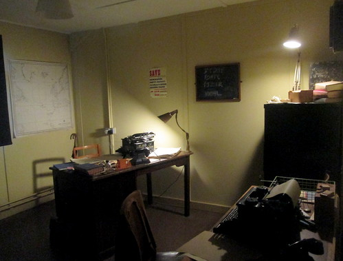 Alen Turing's Office, Bletchley Park, codebreaking, WW2