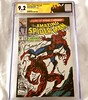 Next up from the CGC Summer Signature Series is Amazing Spider-Man 361, first full appearance of Carnage, signed by Mark Bagley. I got the Carnage header to match :grin: The 9.2 is just okay but it's hard to tell exactly what's dropping it down by 10ths o