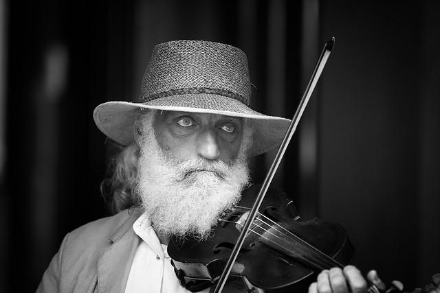 Traditional musician