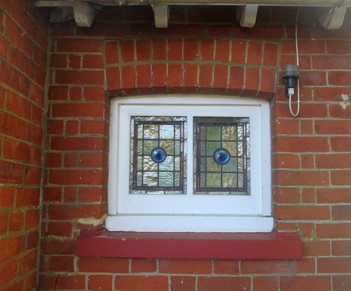 Bletchley Park Cottages window