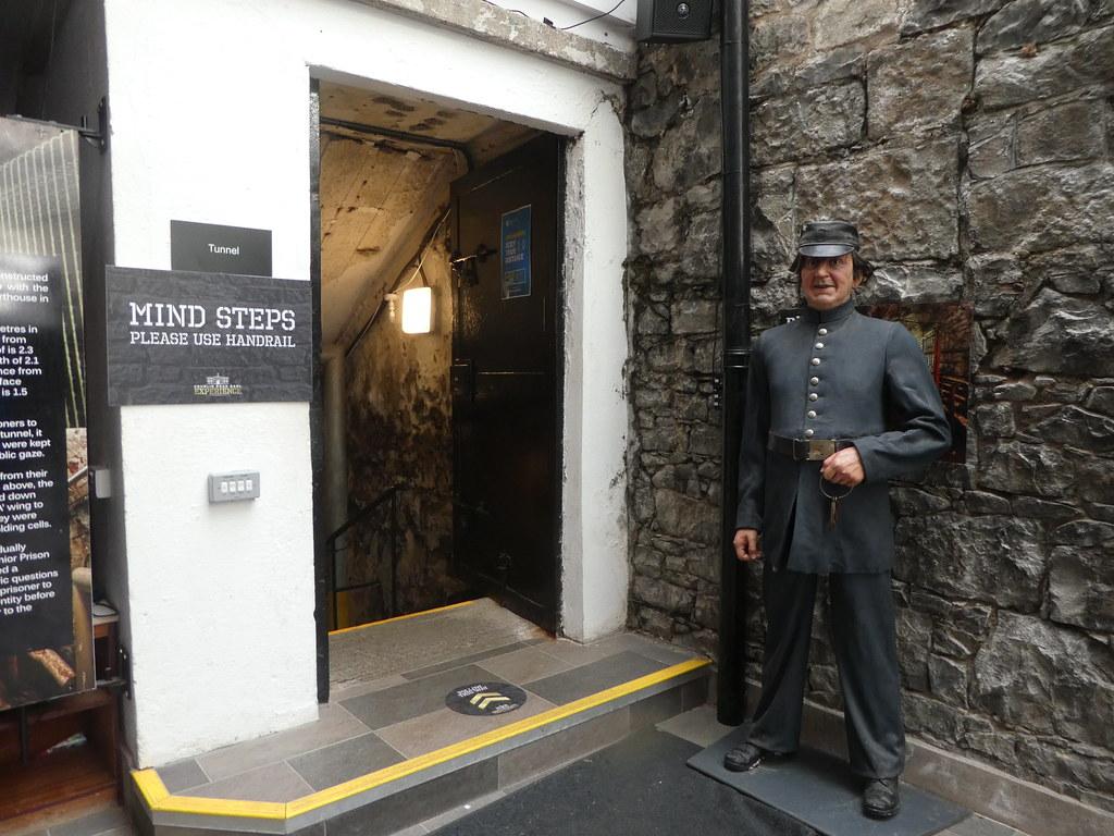Tunnel entrance, Crumlin Road Gaol Experience