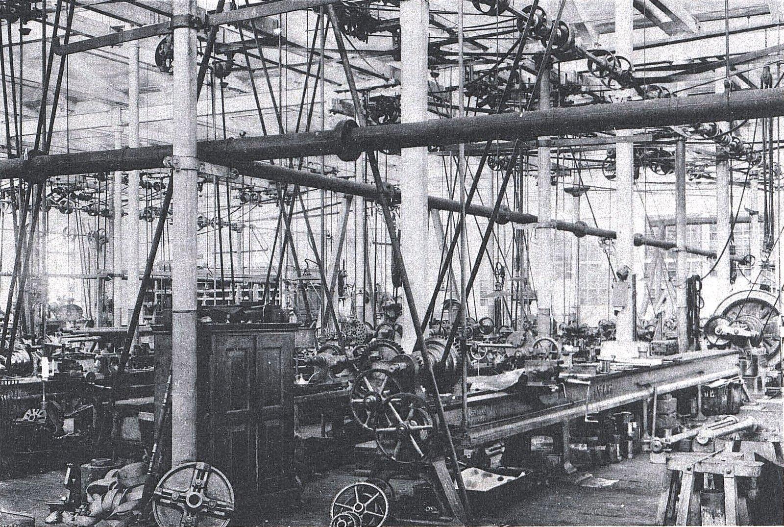 19. Внутренний вид механического завода