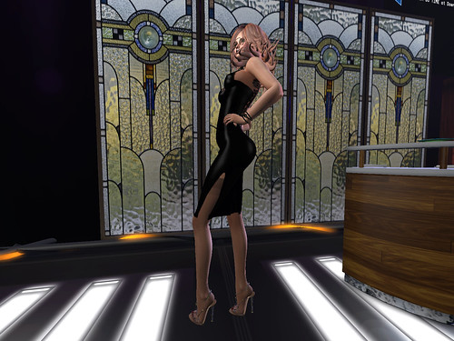 Stained Glass And Slinky Dresses