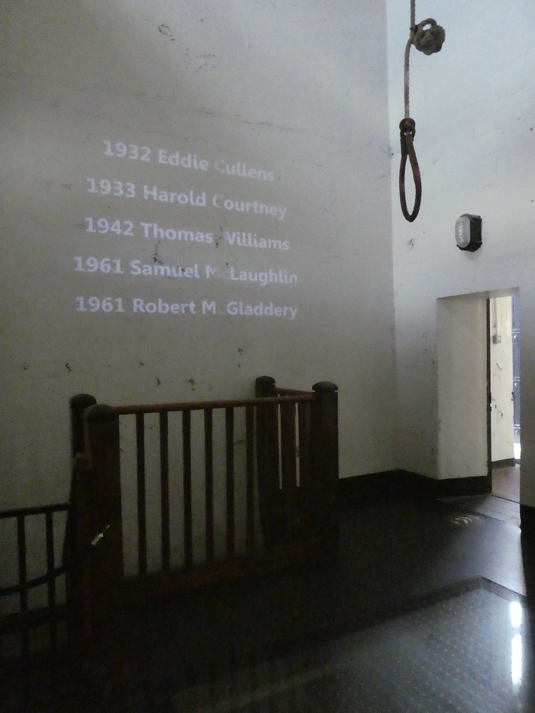 The Hanging Cell, Crumlin Road Gaol