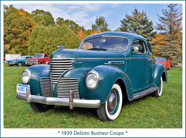 1939 DeSoto Business Coupe