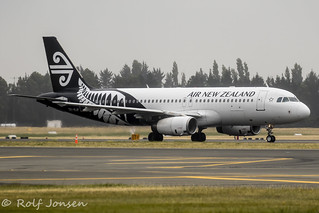 ZK-OJF Airbus A320 Air New Zealand Christchurch Airport NZCH 03.01-20