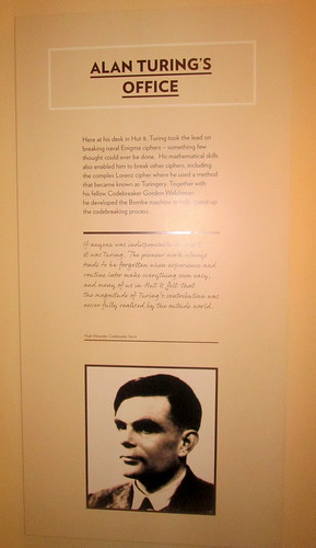 Alan Turing's Office, Bletchley Park, codebreaking, WW2