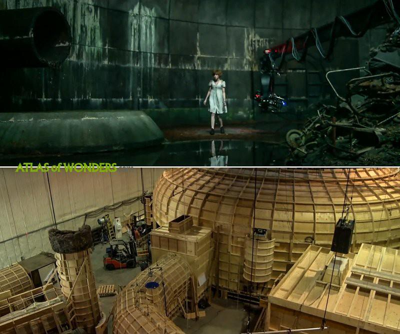 It film set in a soundstage