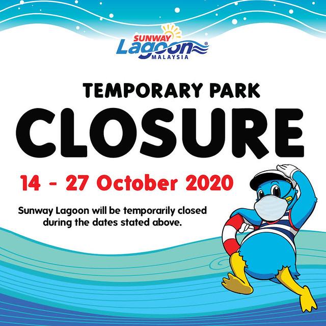 Sunway Lagoon Ditutup Sementara Waktu Susulan Pkpb Di Petaling Jaya