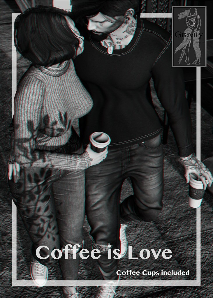 Gravity Poses - Coffee is Love vendor