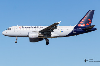 BrusselsAirlines_A319_OO-SSN_EBBR_OCT2016