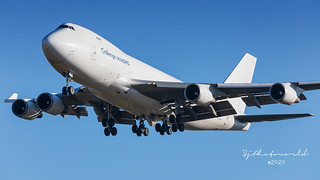 CAL Cargo Air Lines Boeing B747-4F 4X-ICA_Front