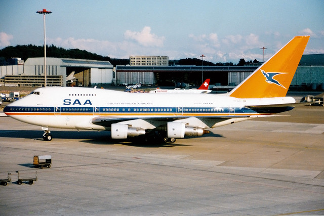 South African Airways | Boeing 747SP | ZS-SPC | Zurich Kloten