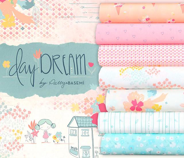 Art Gallery Fabrics Daydream Collection by Patty Basemi