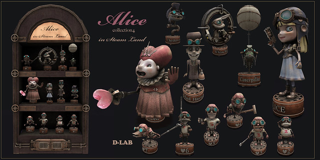 D-LAB Alice in Steam land AD3 2048