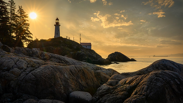 Lighthouse Park Sunrise (Explored)