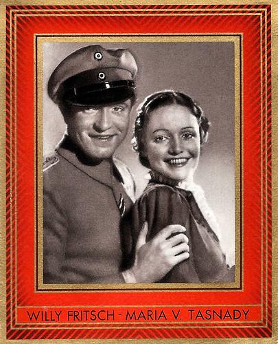 Willy Fritsch and Maria von Tasnady in Menschen ohne Vaterland (1937)