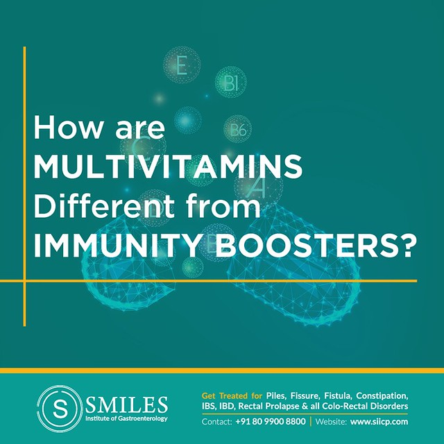 how multivitamins different from immunity boosters