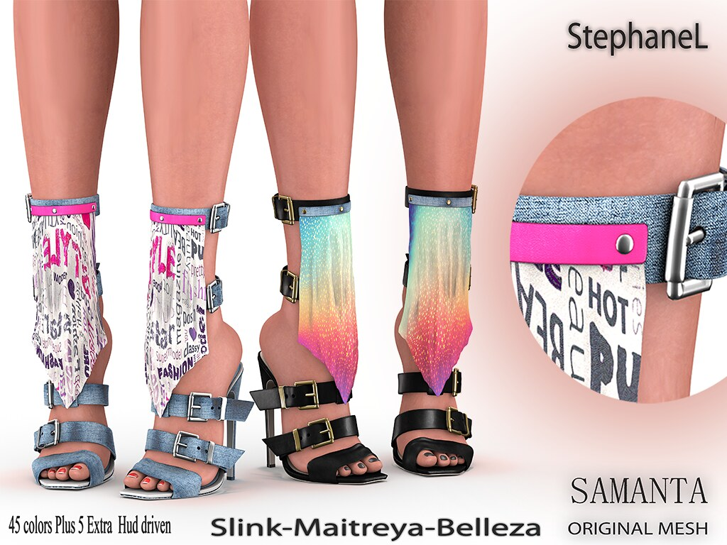[StephaneL] SAMANTA SHOES FATPACK