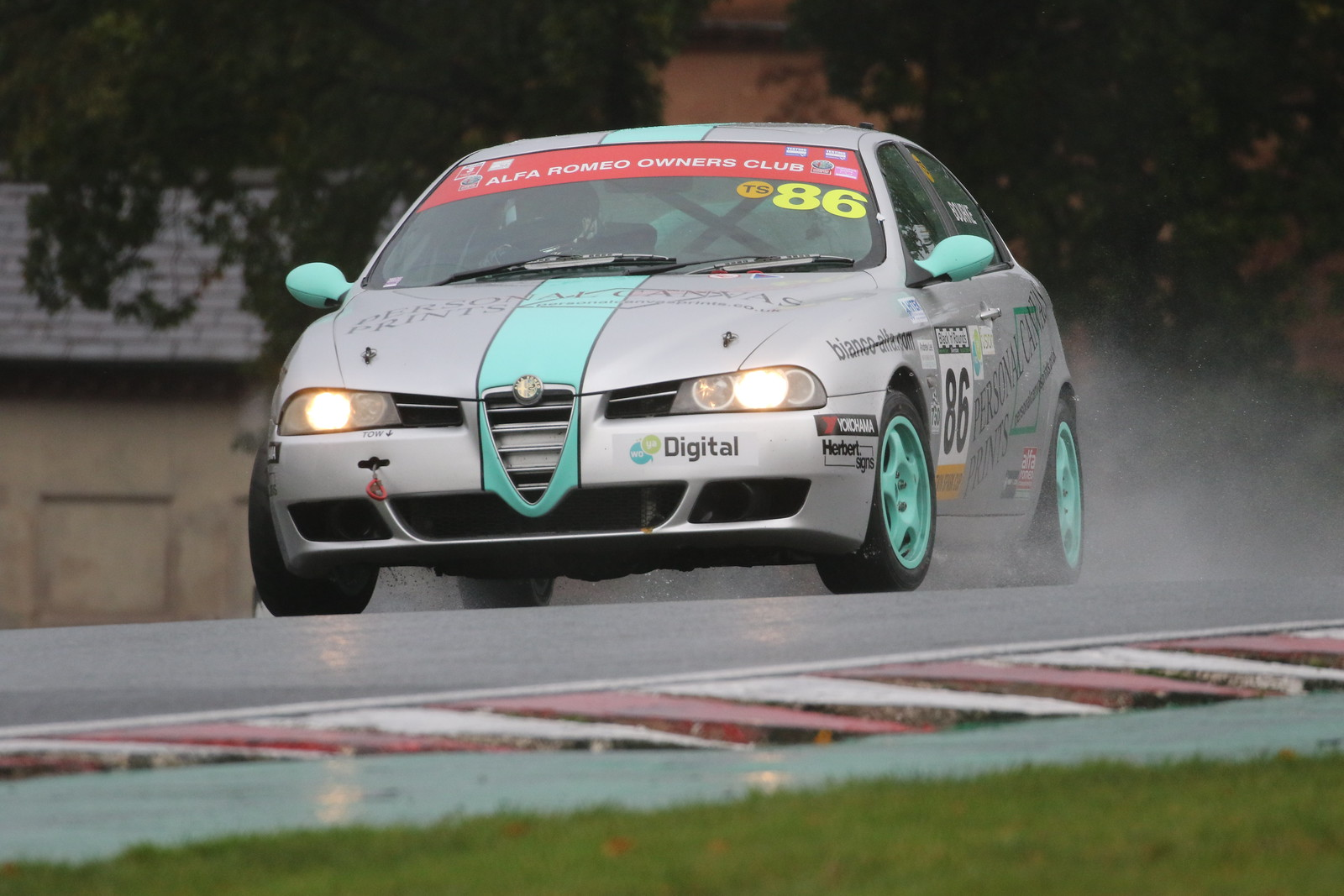 Championship Sponsors Rally Round the Alfa Romeo Championship