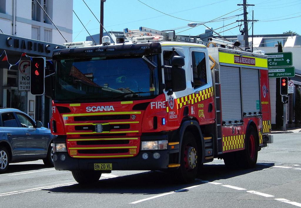 Fire Engine, Waverley, Sydney, NSW.