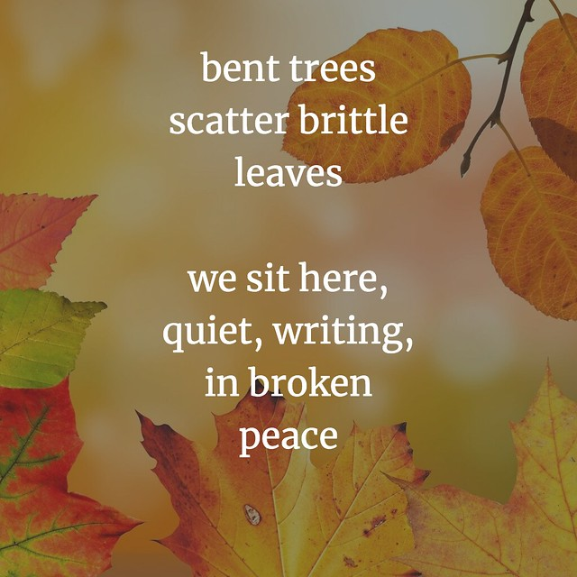 Tree Poem for WriteOut
