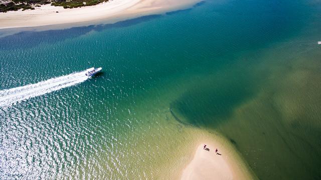 drone13 - algarve 2017  - fuseta beach