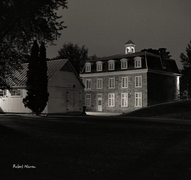 Le Musée régional de Vaudreuil-Soulanges (Argentique) / A museum in Vaudreuil-Dorion, Quebec (Film)