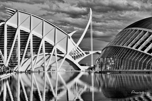 Arquitectura moderna en B&N_Explore