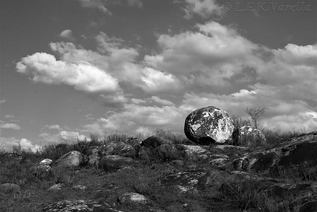 Cerro do boqueirão em p&b