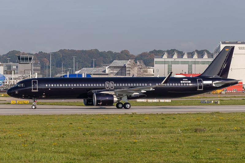 A321-251NX/LR Titan Airways D-AZAT - G-XATW MSN10150