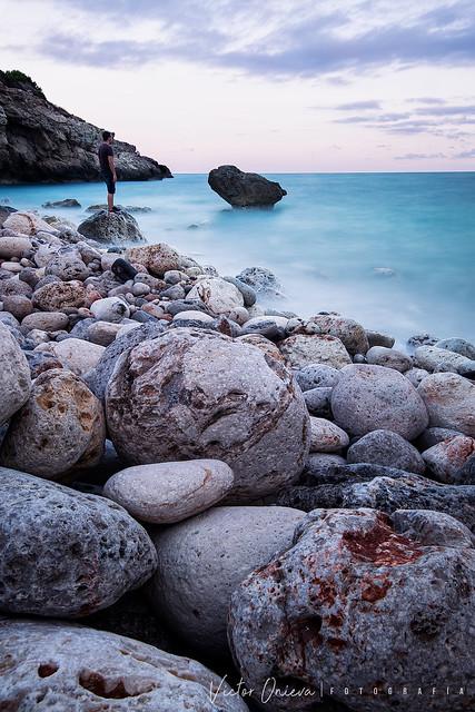 Caló des Grells. Mallorca
