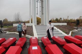09.10.2020 | Перезахоронение воинов в Мясном Бору