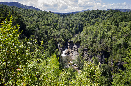 linville falls trail hike hiking outdoor landscaping mountains water north carolina the south