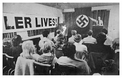 American Nazis celebrate Hitler's birthday: 1978