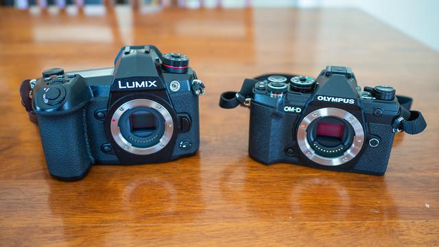 Lumix G9 and EM5mk3