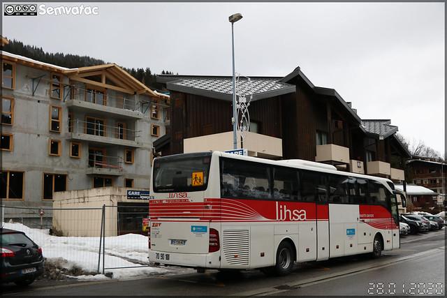 Mercedes-Benz Tourismo – SAT Thonon (SA des Autos Transports du Chablais et du Faucigny) / Auvergne-Rhône-Alpes / Lihsa (Lignes Interurbaines de Haute-Savoie) n°474