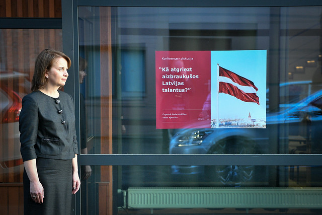13.10.2020. Valsts prezidents Egils Levits atklāj Nodarbinātības valsts aģentūras diskusiju par remigrācijas jautājumiem