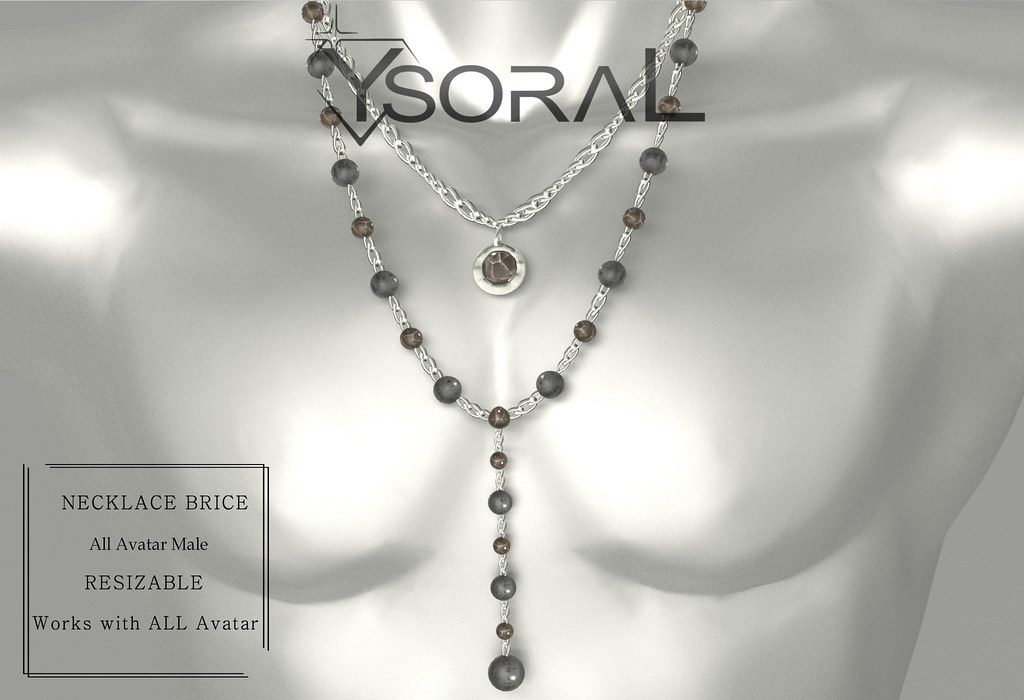 ~~ Ysoral ~~ .:Luxe Necklace Male Brice :.