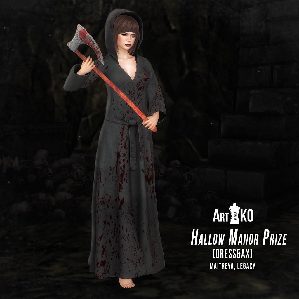 Art&Ko – Hallow Manor Prize – Dress&Ax